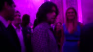 Adrian Grenier Sarah Arison at The National YoungArts Foundation Gala in Miami Florida 01/12/13 Adrian Grenier Sarah Arison at The National You on...