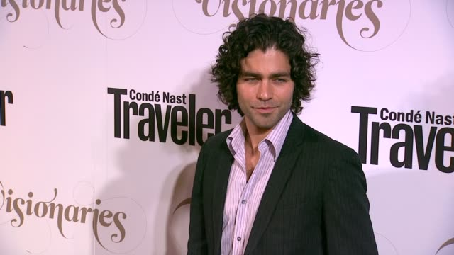 Adrian Grenierat Conde Nast Traveler Celebrates 'The Visionaries' And 25 Years Of Truth In Travel in New York 09/18/12
