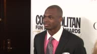 Adrian Peterson at Cosmopolitan Magazine's Fun Fearless Awards 2012 on in New York