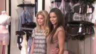 Adriana Lima Doutzen Kroes at the Adriana Lima and Doutzen Kroes Unveil The All New Supermodel Obsessions at New York NY