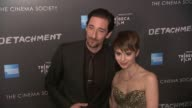 Adrien Brody and Sami Gayle at Premiere Of Tribeca Film's Detachment Hosted By American Express The Cinema Society on 3/13/2012 in New York NY United...