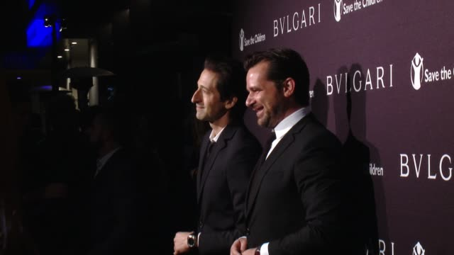 Adrien Brody and Stephane Gerschel at BVLGARI Partners With Save The Children To Launch STOPTHINKGIVE A Collection Of Celebrity Portraits By Fabrizio...