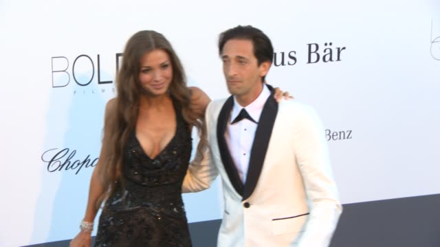 Adrien Brody at amfAR 'Cinema Against AIDS' 2013 at Hotel du CapEdenRoc on May 23 2013 in Cap d'Antibes France