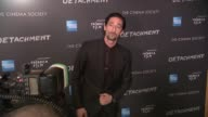 Adrien Brody at Premiere Of Tribeca Film's Detachment Hosted By American Express The Cinema Society on 3/13/2012 in New York NY United States
