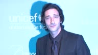 Adrien Brody at the 2011 UNICEF Snowflake Ball at New York NY