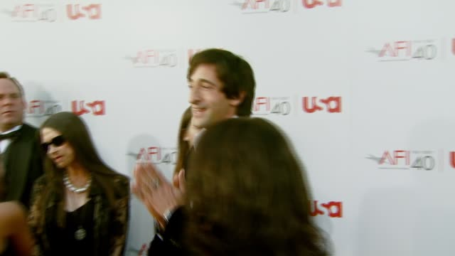 Adrien Brody at the Al Pacino Honored with 35th Annual AFI Life Achievement Award at the Kodak Theatre in Hollywood California on June 7 2007