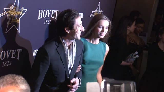 Adrien Brody at the Hollywood Domino Annual PreOscar Soiree Presented By Bovet 1822 at the Sunset Tower Hotel on February 19 2015 in West Hollywood...