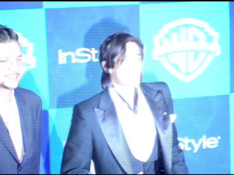 Adrien Brody at the InStyle/Warner Brothers Golden Globes Party at the Beverly Hilton in Beverly Hills California on January 16 2006
