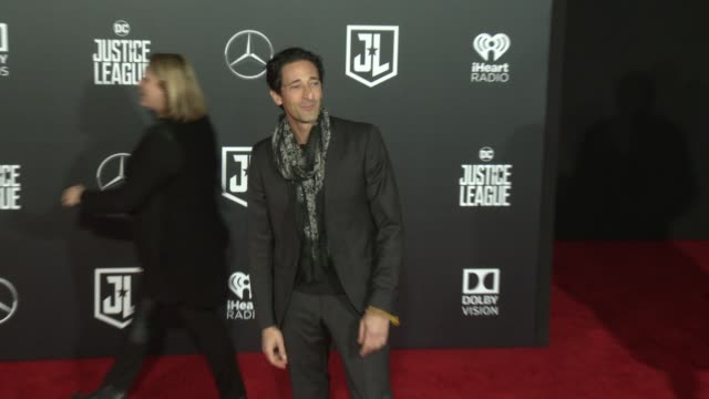 Adrien Brody at the 'Justice League' World Premiere at Dolby Theatre on November 13 2017 in Hollywood California