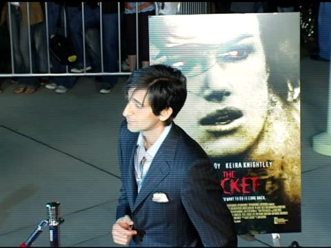 Adrien Brody at the Special Screening of 'The Jacket' at the Pacific ArcLight Theatre in Los Angeles California on February 28 2005