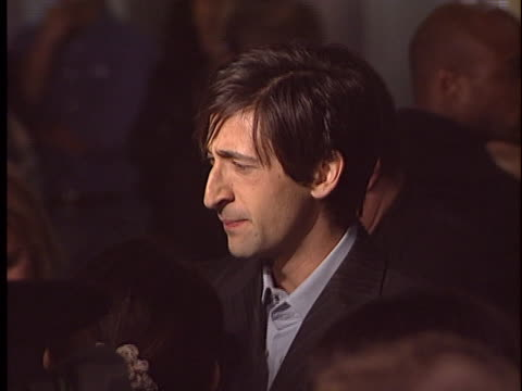 Adrien Brody at the The Jacket Premiere at Pacific ArcLight Hollywood in Hollywood CA