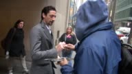 Adrien Brody at the 'TODAY' show studio in New York NY on 3/16/2012