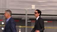 Adrien Brody departs the 2015 Spirit Awards in Santa Monica in Celebrity Sightings in Los Angeles