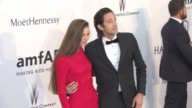 Adrien Brody Lara Lieto at amfAR 22nd Cinema Against AIDS Gala Presented By Bold Films And Harry Winston at Hotel du CapEdenRoc on May 21 2015 in Cap...
