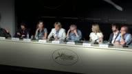 Adrien Brody Lea Seydoux Owen Wilson Woody Allen Rachel McAdams Michael Sheen at the Midnight in Paris Press Conference