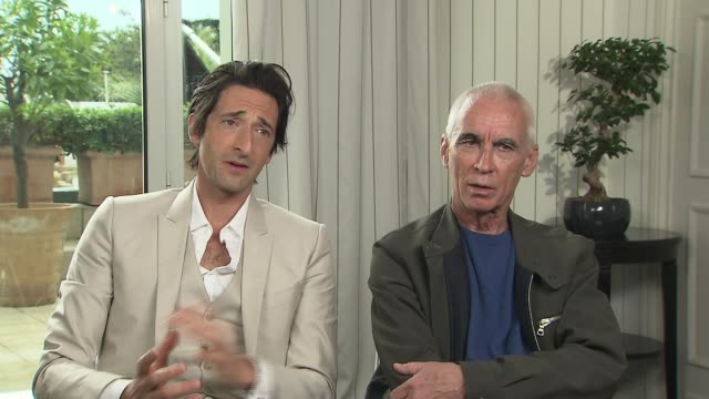 INTERVIEW Adrien Brody Lee Tamahori on bringing the movie to fruition at the announcement of the new film production called 'Emperor' at Majestic...