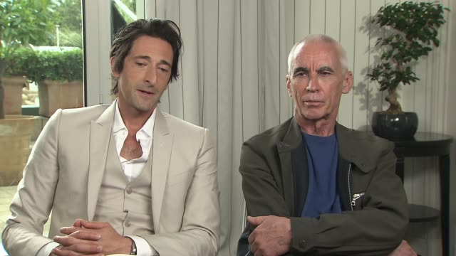 INTERVIEW Adrien Brody Lee Tamahori on the character Brody plays at the announcement of the new film production called 'Emperor' at Majestic Hotel on...