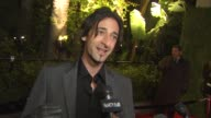 Adrien Brody on the Vanity Fair Oscar party at the 2011 Vanity Fair Oscar Party Arrivals at Hollywood CA