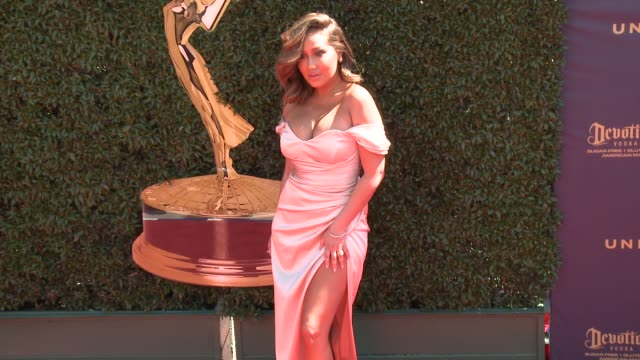 Adrienne Bailon at the 44th Annual Daytime Emmy Awards at Pasadena Civic Auditorium on April 30 2017 in Pasadena California