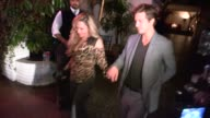 Adrienne Maloof and Andy Hnilo on Why he Loves Adrienne so Much at Chateau Marmont in WeHo at Celebrity Sightings in Los Angeles on September 25 2013