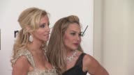 Adrienne Maloof and Camille Grammar at Elton John Aids Foundation Celebrates 20th Annual Academy Awards Viewing Party on 2/26/12 in Hollywood CA