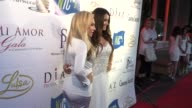 Adrienne Maloof and Luisa Diaz at the Mi Amor Gala And Safe Passage Unite Leaders In The Beverly Hills Community at Nics at Celebrity Sightings in...