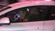 Adrienne Maloof departs Craig's in West Hollywood 08/09/12