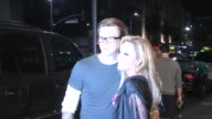Adrienne Maloof with Sean Stewart departing Perez Hilton's 35th Birthday Party at Celebrity Sightings in Los Angeles Adrienne Maloof with Sean...