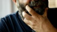 adult bearded man