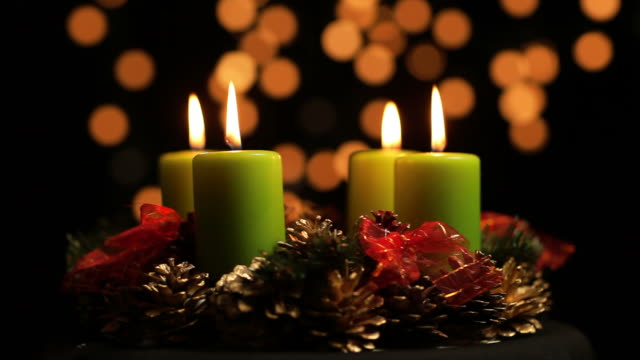 Advent wreath Adventskranz