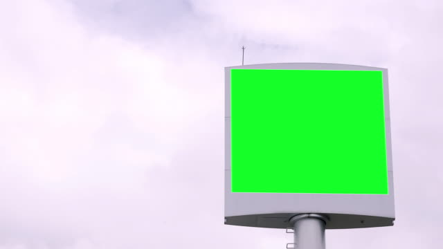 Advertising Billboard Green screen