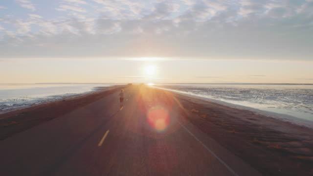 Aerial 4K: Run to the Sun