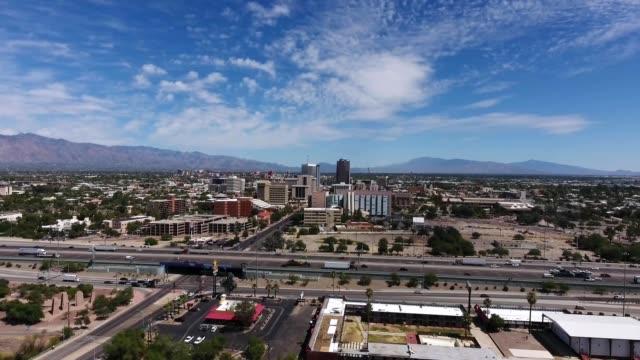 Aerial Approach Tucson Arizona