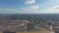 Aerial Bangkok Port (Khlong Toei)