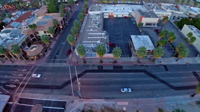 Aerial California Palm Springs