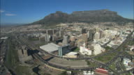 Aerial, Cape Town, Signal Hill and Lion's Head. South Africa