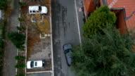 aerial car chasing