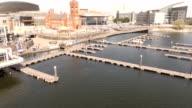 Aerial Cardiff Bay