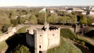 Aerial Cardiff Castle