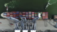 Aerial cargo containers