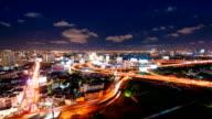 Vista aerea del paesaggio urbano in Asia