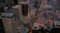 Aerial cityscape with Daniels and Fisher Tower/ Denver, Colorado