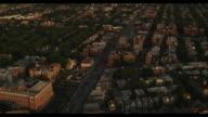 Aerial Downtown Manhattan