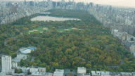 Aerial flying over Harlem then camera pans up to reveal Central Park
