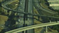 Aerial Flyover California Highway