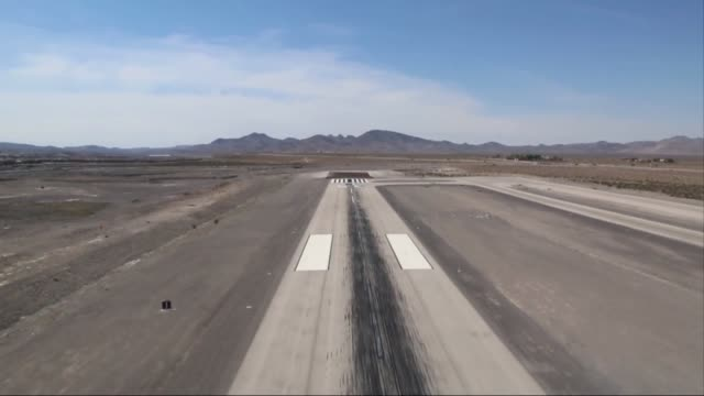 Aerial footage from a Seaplane taking off from a runway outside of Las Vegas Nevada Aerial footage of the Las Vegas desert the Colorado River and...