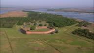 Aerial Fort Pulaski/ Georgia