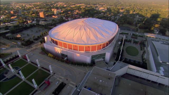 Aerial Georgia Dome/ Atlanta, Georgia