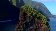 Aerial Hawaii Coast