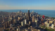 Luftbild von Chicago, Illinois